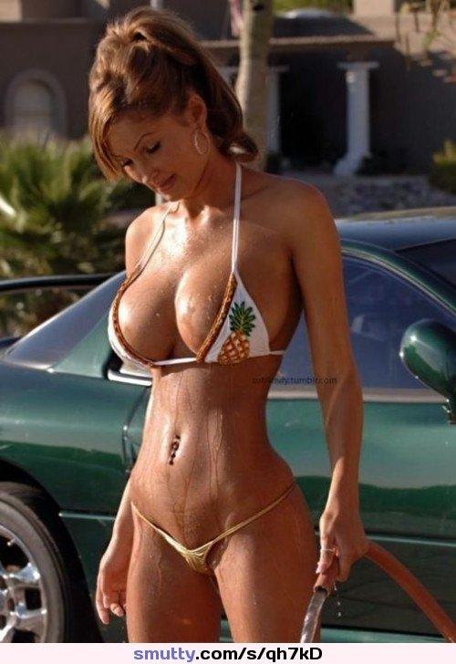Hard body mature tits