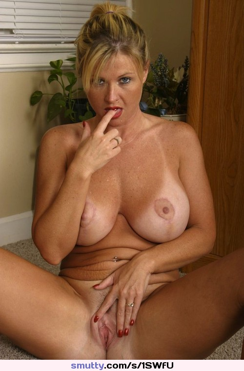 Sexy housewife takes a break from baking cookies 2