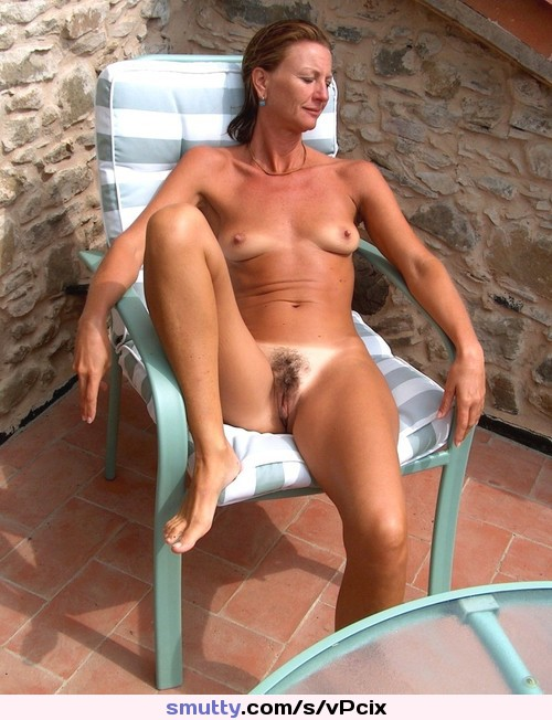 hot mature nude sunbathing