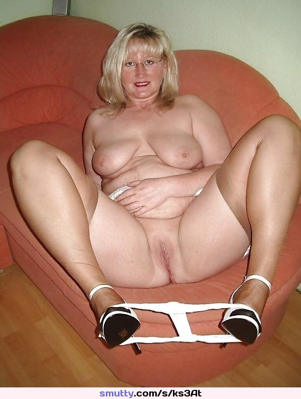 Chubby Blonde Milf Solo