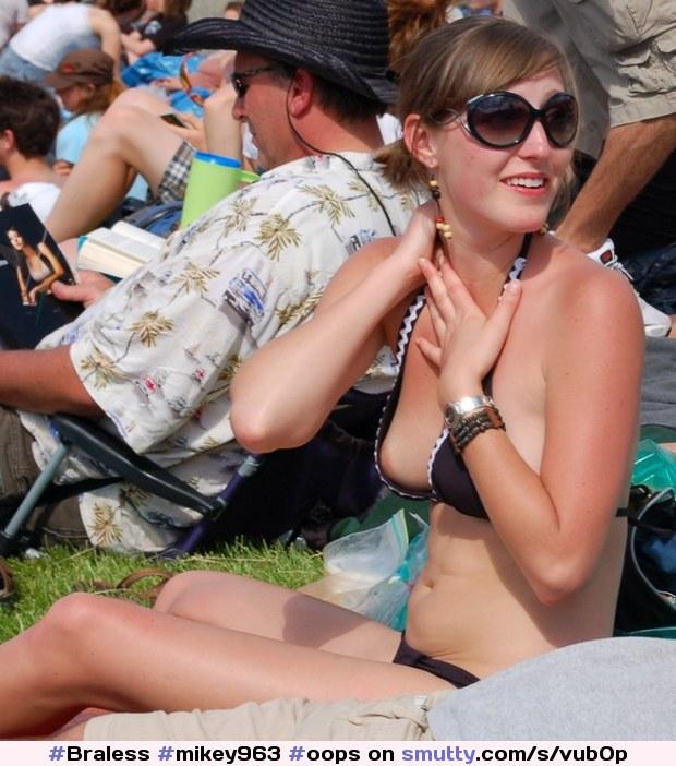 #Mikey963, #oops, #bikini, #Nipple, #Peek, #Down Blouse, # ...