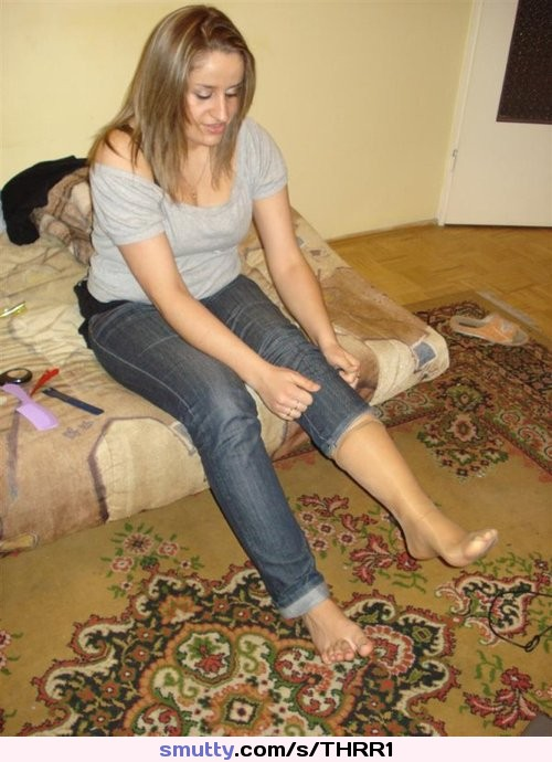 Candid awesome toe feet rubbing dirty soles 10