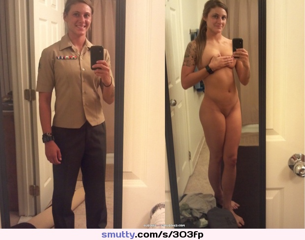 Military amateur dressed undressed | smutty.com