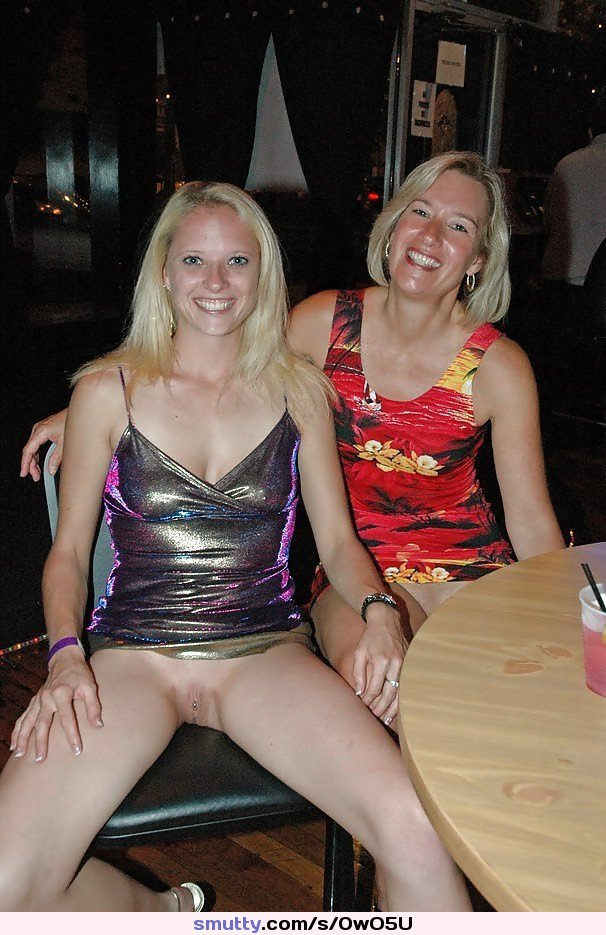 Naked moms and public daugther