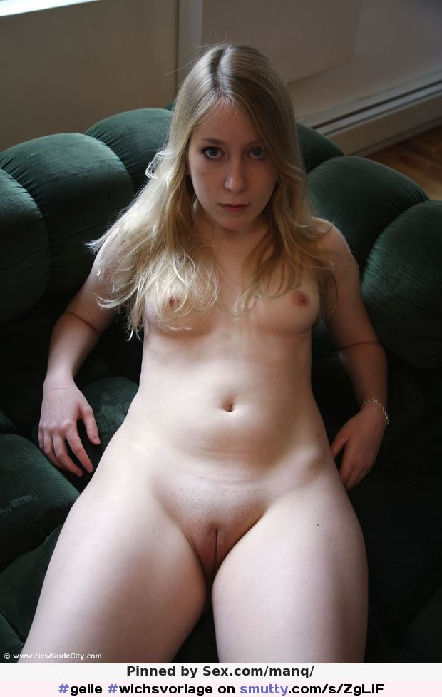image Young gorgeous blonde takes it in all holes from three guys