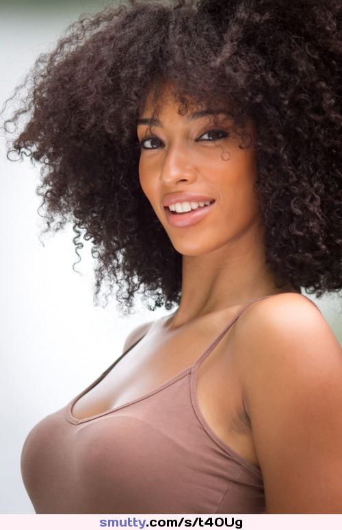 ebony brunette with long curly hair is enjoying interracial sex  376279