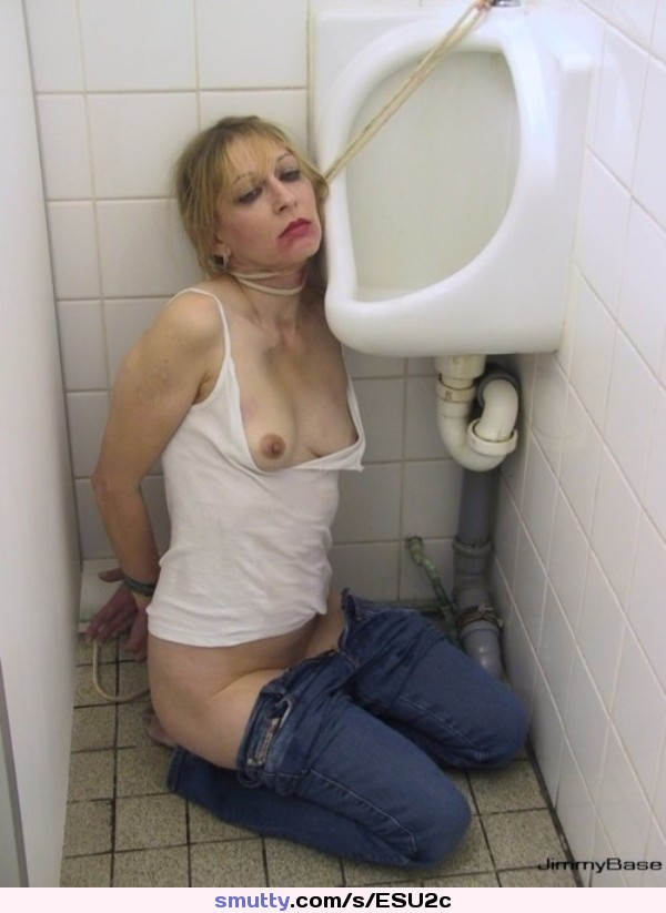 Piss slut likes to drink golden pee right from the tap 3 1