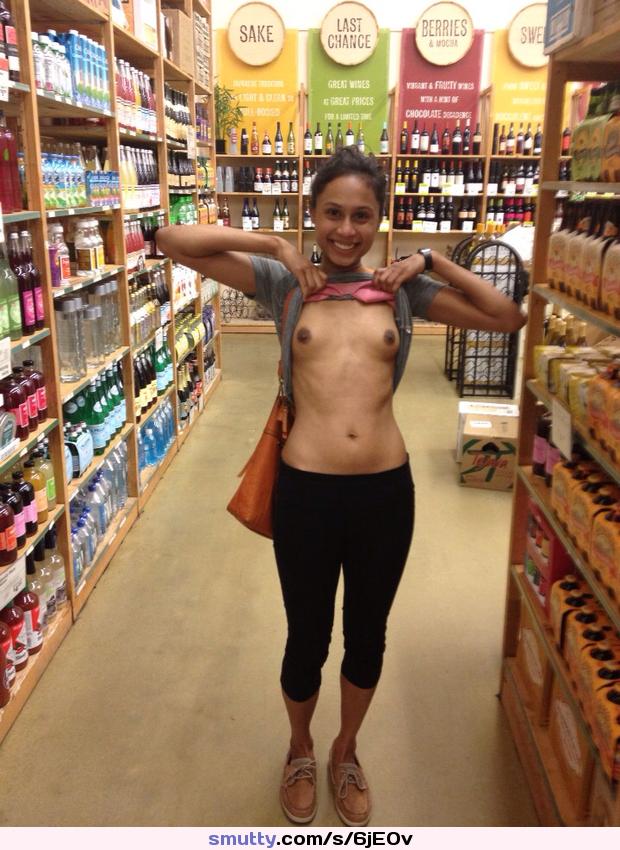 Public nudity oops