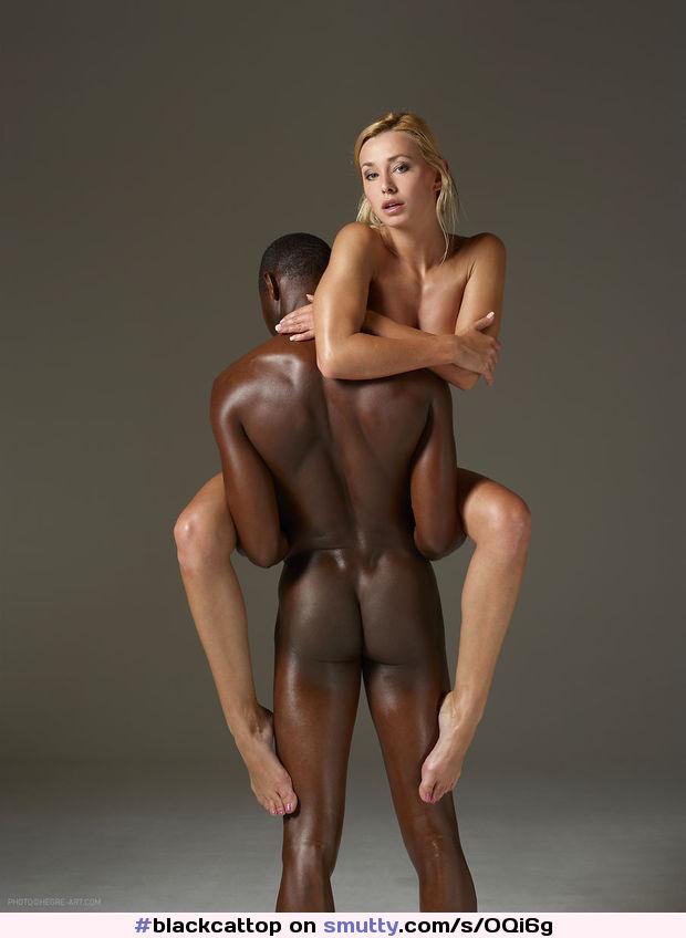 Nude interracial couple 13