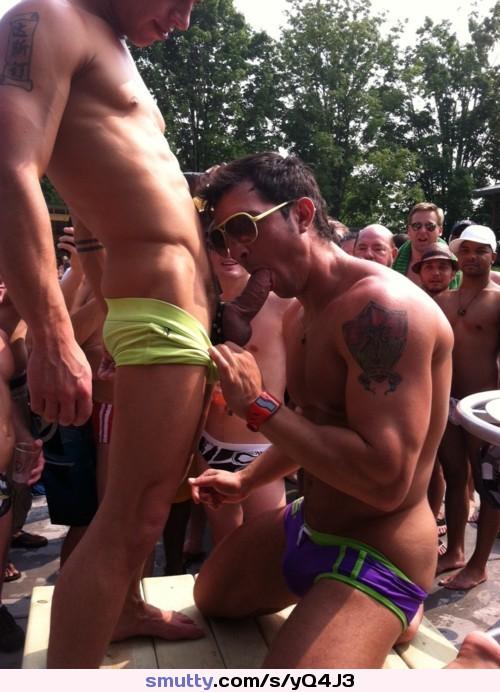 gay public bulge