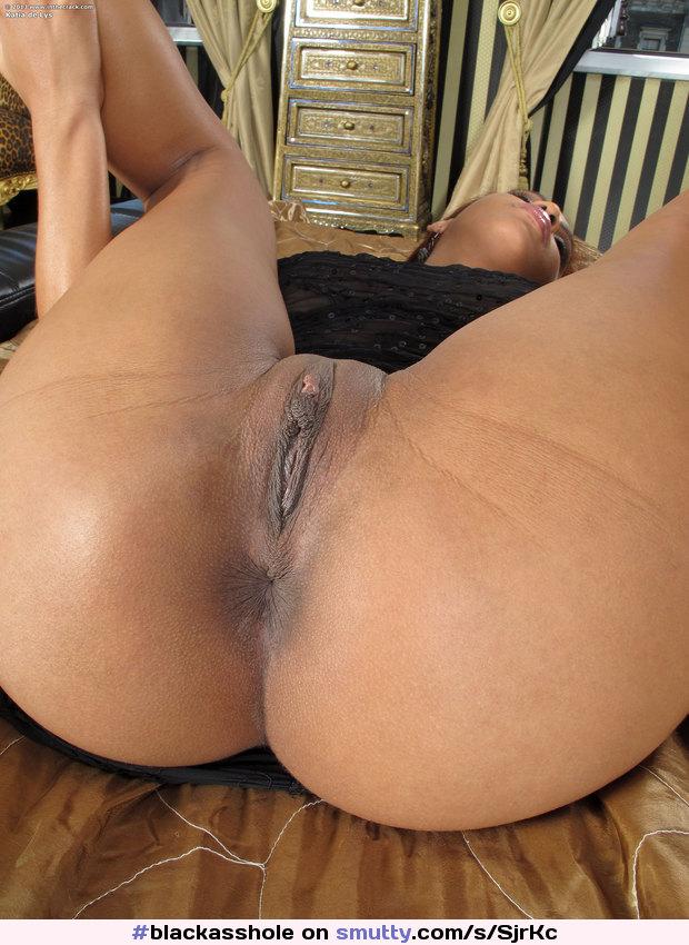 Ebony pussies ass hole