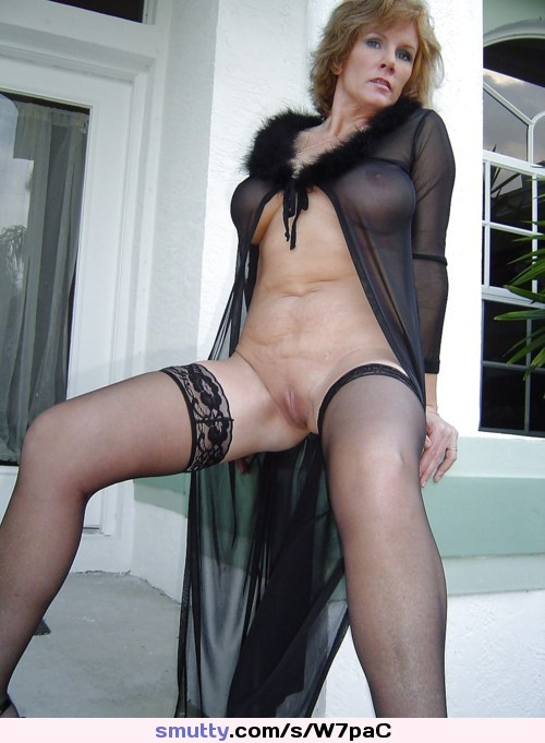Milf Solo Squirt Stockings