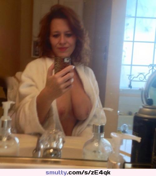 Opinion you milf in bathrobe