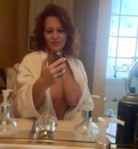 in bathrobe Milf
