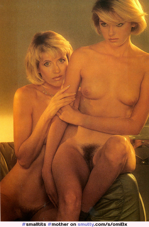 #mother#daughter#penthouse#vintage#classic#1985#Sue#Louise#muff#bush#blond#family@biandreah