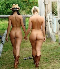 Think, that Cowgirls naked in a group phrase simply