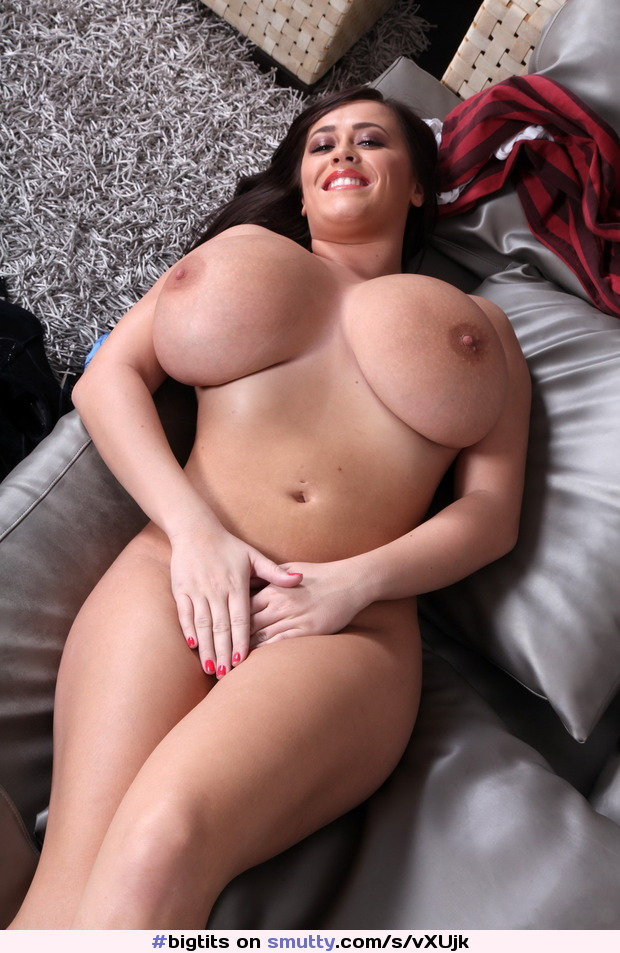 She's voluptuous all around big tits, big thighs, big everything