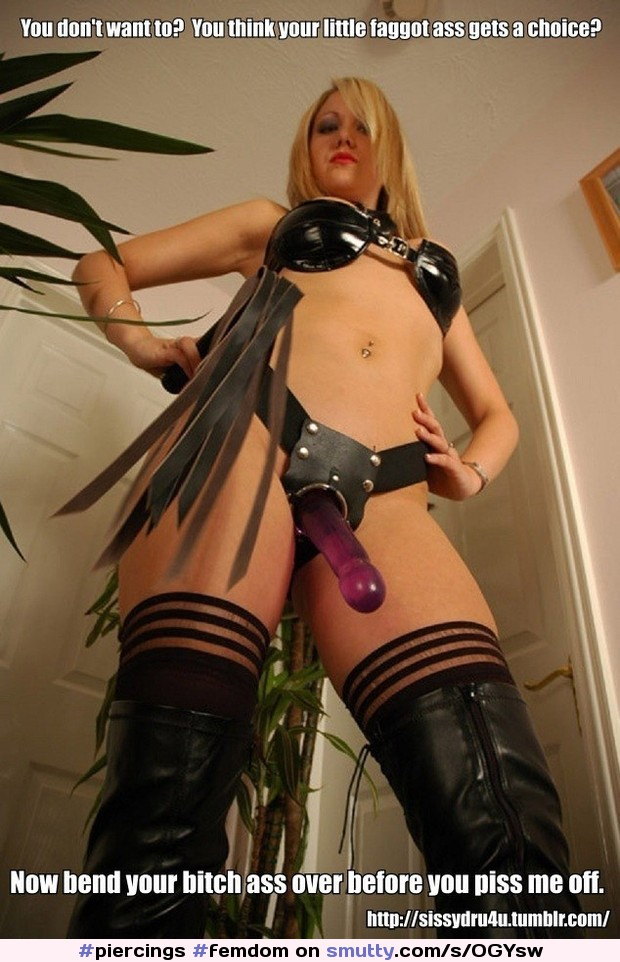 Gorgeous mistress fucks with her slave 5