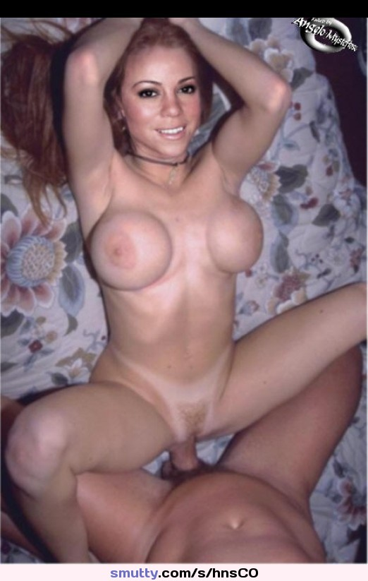 boobs have mariah Does carey fake