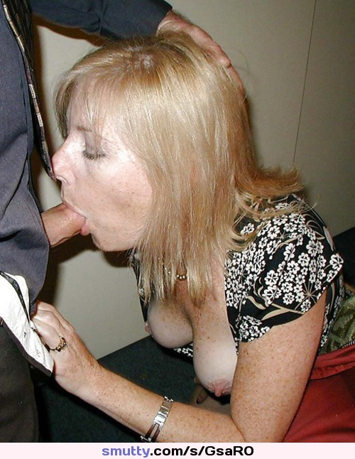 Freckled Blowjob Milf