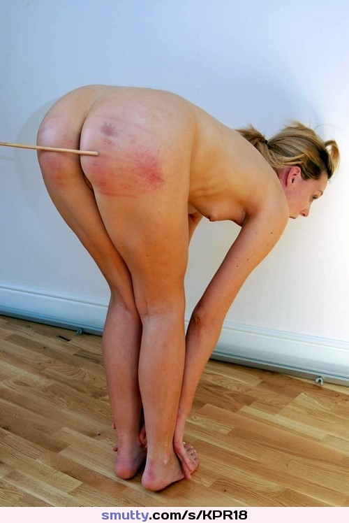 Obedient milf ass spanked whipped