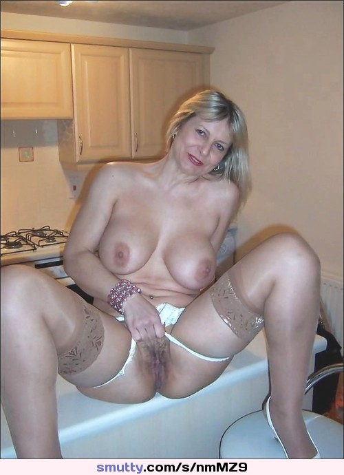 Seems, Blonde milf cougar lingerie consider, that