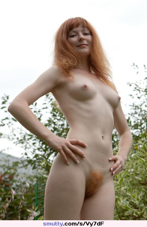 Naked pale girl without head