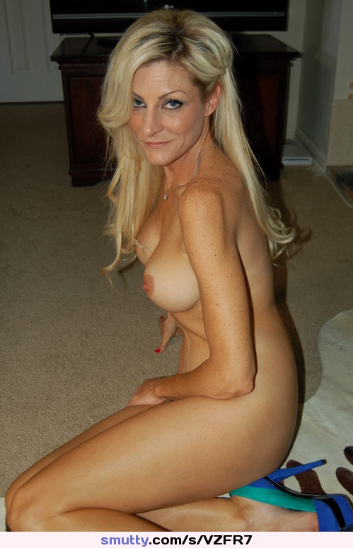 Hot busty blonde cougar