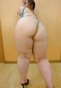 butt japanese bbw