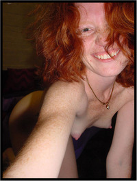 selfie redhead freckles nude amature