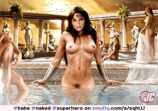 Superhero boobs nude