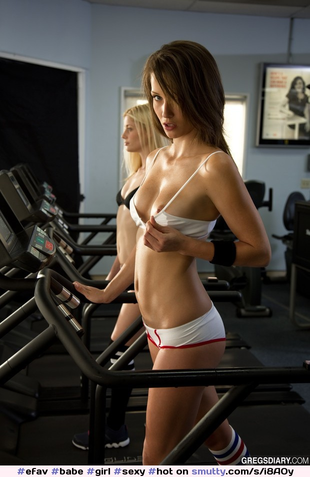 Sexy girls working out nude