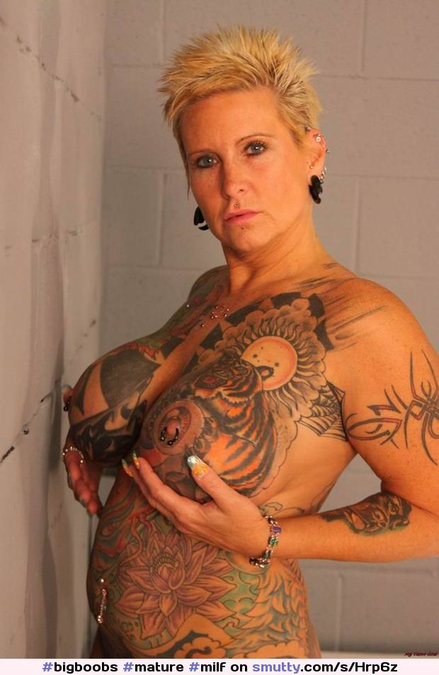 Big Tits Tattooed Latina Milf