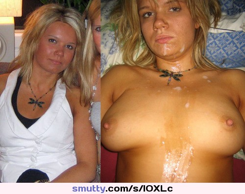 After cumshot before Before after