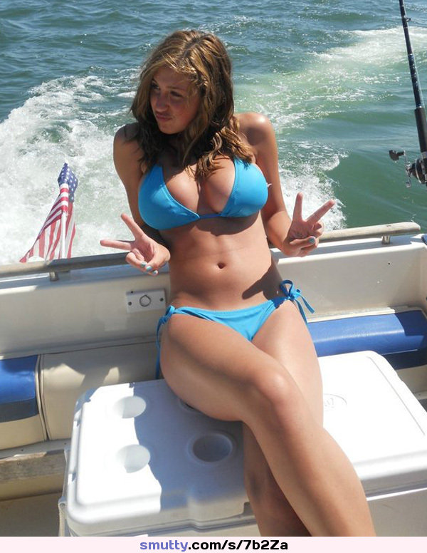 An image by Dickbig645: #hot #gorgeous #big tits #beautiful #BoatSex