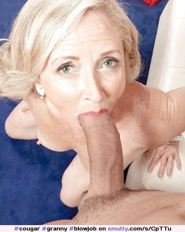 Amateur cocksucker big tits mature eats cum 8