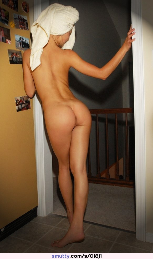 Sexy woman bending nude