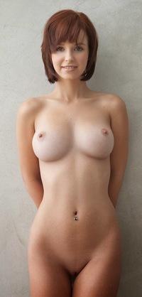 Petite Red Head Huge Tits