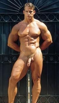 Warm Naked Man Bodybuilding Photos