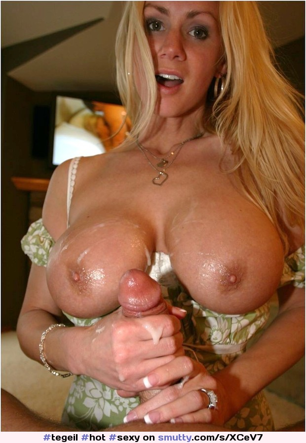 Blonde Tattoo Big Tits Milf