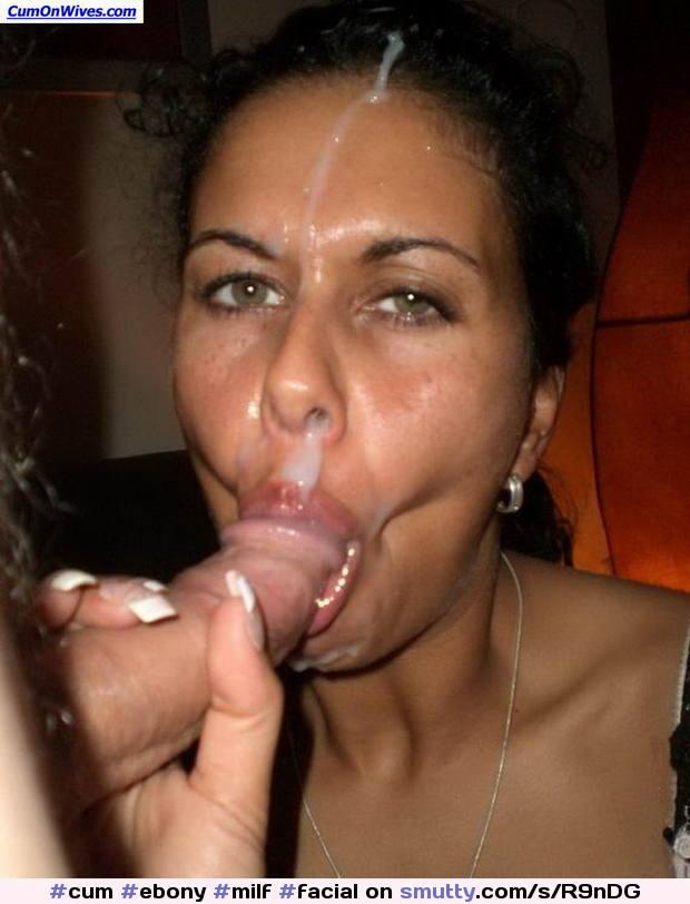 Ebony Milf Facial