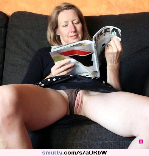 Dame Mutter Leggings Kondomsex