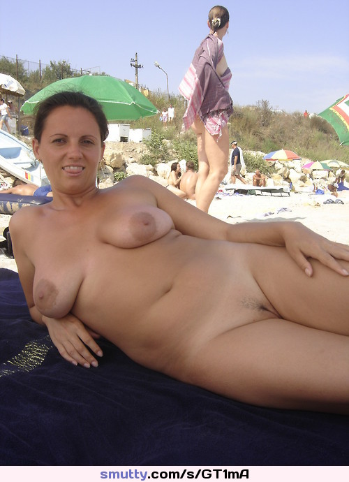 Ideal Mature Wife At Nude Beach Gif