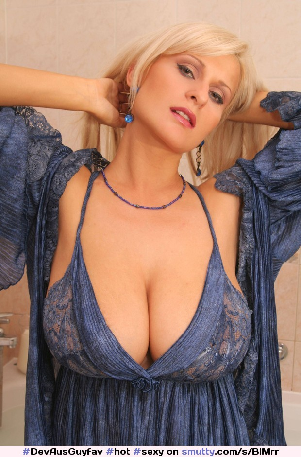 Sexy big boobs clothed
