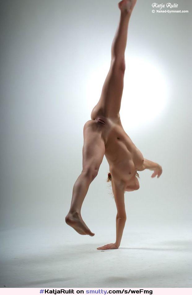 Celebrity Nude Cartwheel Gif