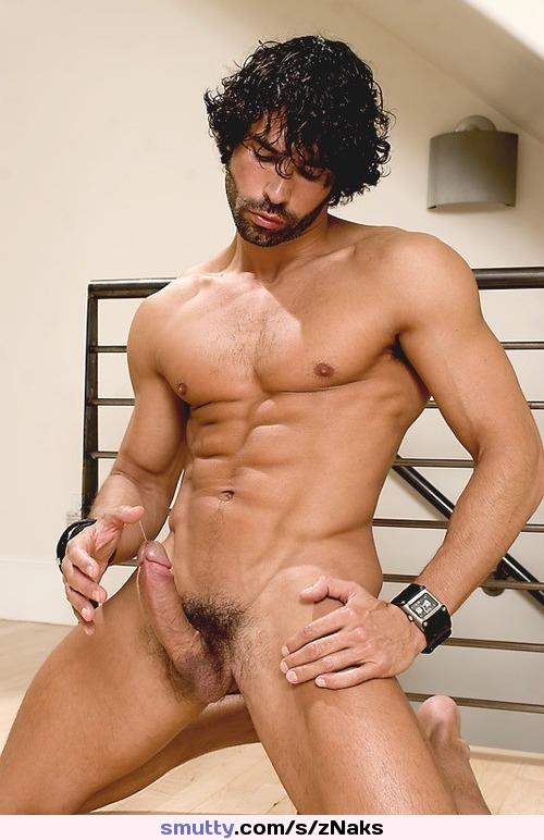 Male Nude Hunk Muscle Cock Erection  Smuttycom-6011