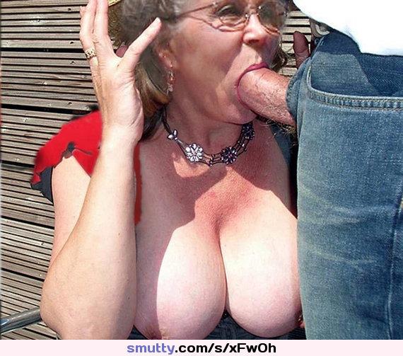 grannies suck cock Old