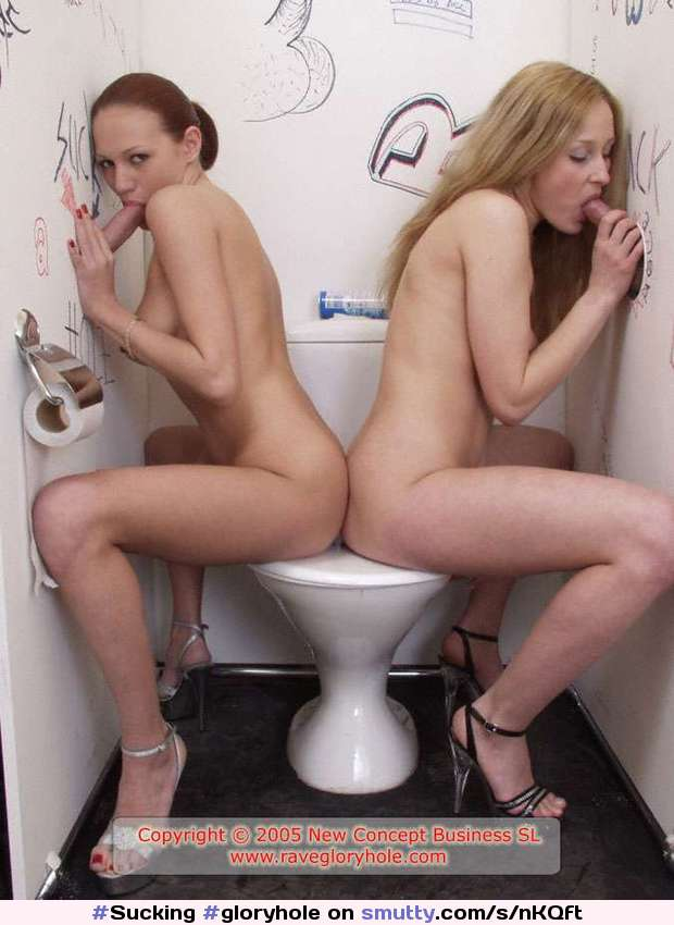 Couple Share Glory Hole