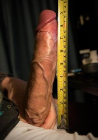 10 inch cock measured