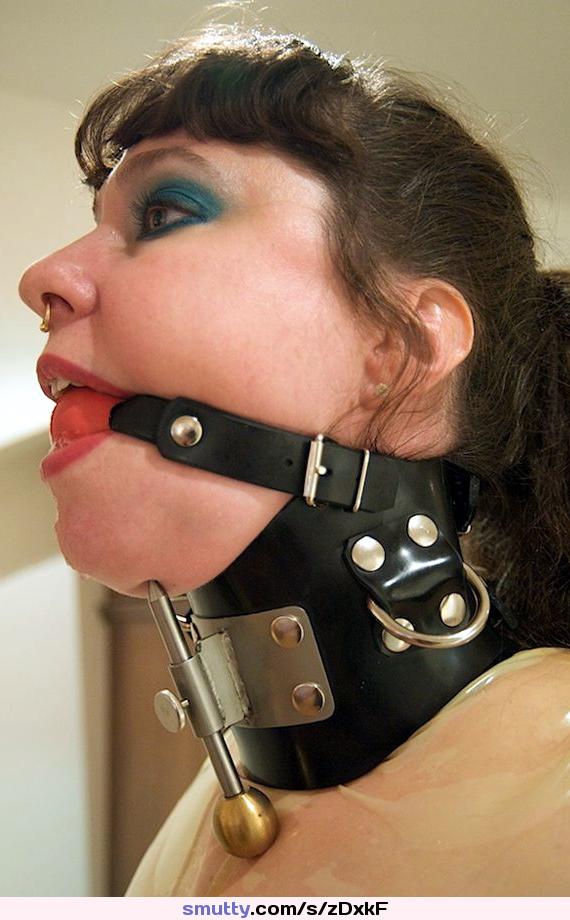 Head harness spider gag open mouth nose hook bondage bdsm restraints